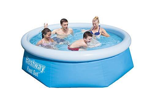 Bestway Power Steel Swim Vista Series Pool Komplett-Set, Oval Piscina