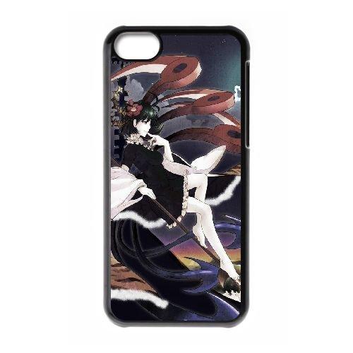 Aya Shameimaru Touhou Project coque iPhone 5C Housse téléphone Noir de couverture de cas coque EBDOBCKCO11855