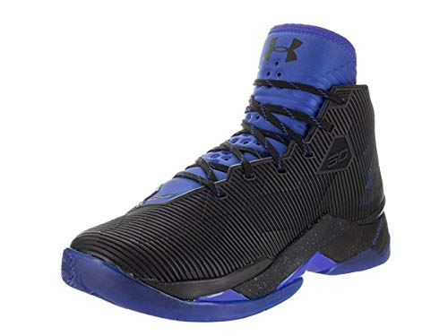 0b695b2a23e Under Armour Curry 2.5 Men's Basketball Shoes (10.5 M US, Black/Team  Royal/Team Royal)