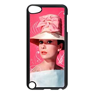 WAKEUP Customized Print Audrey Hepburn Pattern Hard Case for iPod Touch 5