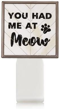 【Bath&Body Works/バス&ボディワークス】 ルームフレグランス プラグインスターター (本体のみ) キャット シールド Wallflowers Fragrance Plug You Had Me At Meow [並行輸入品]