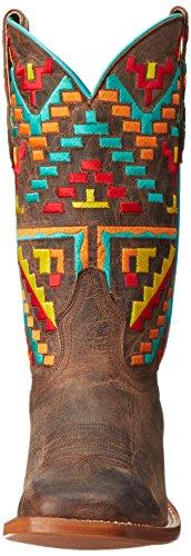 Cinch Aztec Western Boot Bone Women's rr5qO