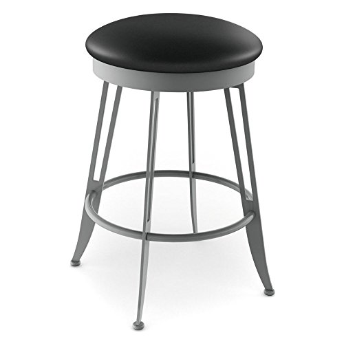 (Amisco Phylo Backless Swivel Counter Stool 26 in.)