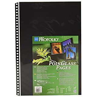 "Itoya Art ProFolio Polyglass Page Refills for Multi-Ring Binders (11"" x 17"")"