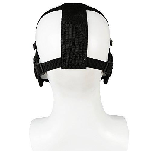 ATAIRSOFT Tactical Airsoft CS Demi-Masque de Protection en Nylon avec Masque Anti-Bruit 4