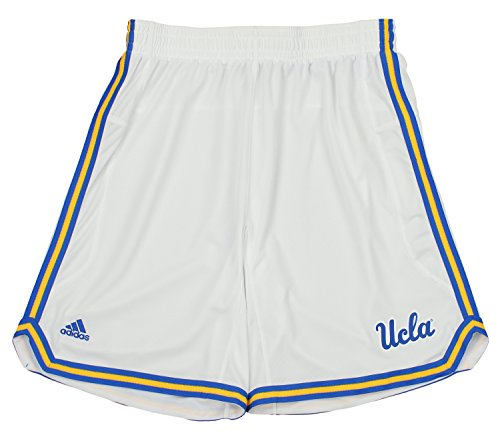 UCLA Bruins adidas Men's Point Guard Basketball Shorts, White -