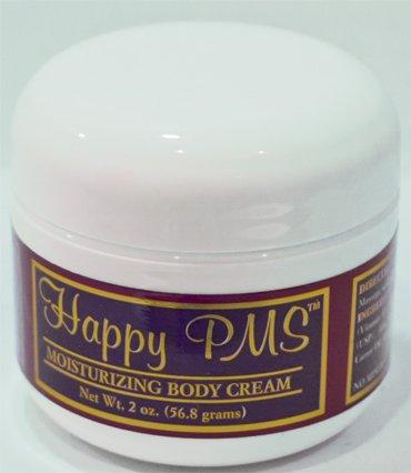 Progestérone de joyeux PMS naturel hydratant corps crème 2oz Jar (cruauté gratuite)