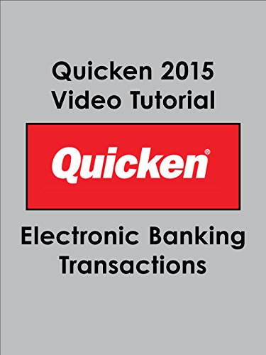 Quicken 2015 Video Tutorial - Electronic Banking Transactions