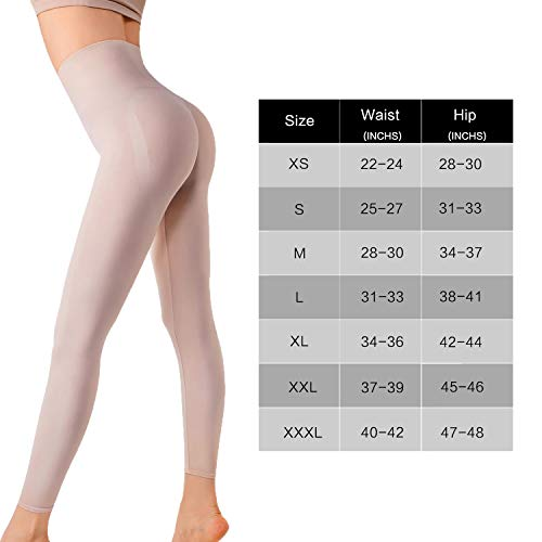 dfc7b40bacf MD Women s High Waist Target Firm Control Shapewear Compression Slimming  Leggings Thigh Body Shaper