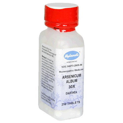Arsenicum Album 30X (DIARRHEA) - 250 - Tablet