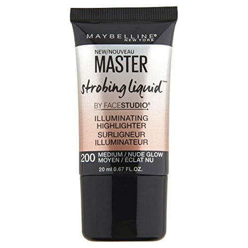 Maybelline New York Master Strobing Liquid Illuminating Highlighter, Medium/Nude Glow, 0.67 fl. oz
