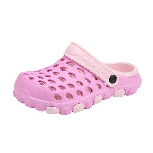 Eva Pantoletten Beach Schuhe Clogs Erwachsene Unisex Hausschuhe Atmungsaktiv Slippers Meijunter Pink Strand Sommer Outdoor qEwI1xBf