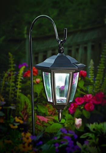 Maggift Lantern Outdoor Shepard Path Hanging Solar Lights,