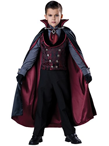 InCharacter Costumes Midnight Count Costume, One Color, 14 (Count Costume)