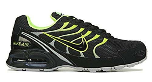 Nike Men's Air Max Torch 4 Running Shoe Black/Volt/Atmosphere Grey Size 8.5 M US