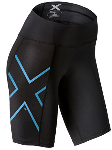 2XU Womens Ice Mid-Rise Compression Shorts