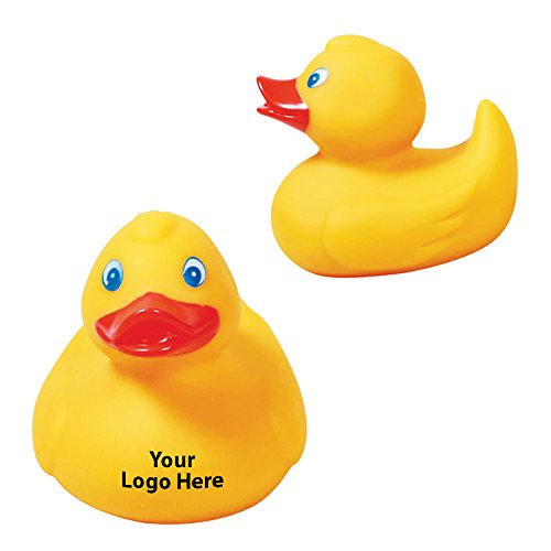 Medium Rubber Duck - 150 Quantity - 1.85 Each - PROMOTIONAL PRODUCT/BULK/BRANDED with YOUR LOGO/CUSTOMIZED