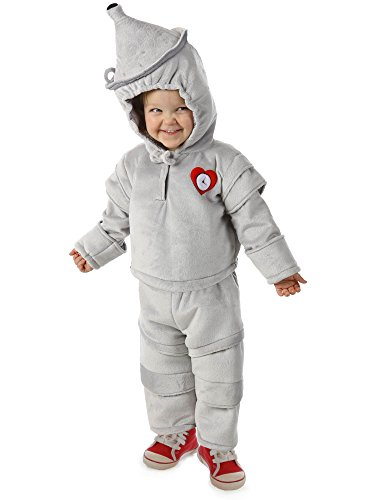 (Princess Paradise Baby Boys' The Wizard of Oz Tin Man Cuddly Costume, Grey, 12 Months 18 Months)