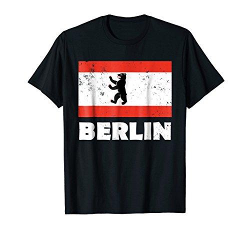Berlin Bear Flag T-shirt German ()