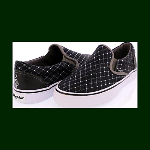 Sneaker Di Moda Baby Black Diamond Diamante Nero / Carboncino