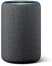 Certified Refurbished Echo (3rd Gen)- Smart speaker with Alexa- Charcoal