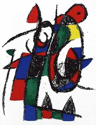 Joan Miro - Original Lithograph II From Miro Lithographs II, Maeght Publisher by Joan