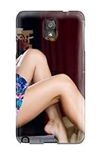 Galaxy Note 3 Hard Back With Bumper Silicone Gel Tpu Case Cover Beautiful Girl Body Perfect Woman Body