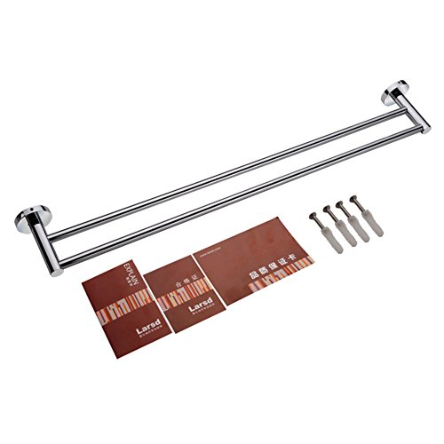Bathroom accessories/towel rack/Towel Bar/Double pole towel rack-C delicate