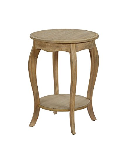ACME Furniture Moraes Weathered White Side Table