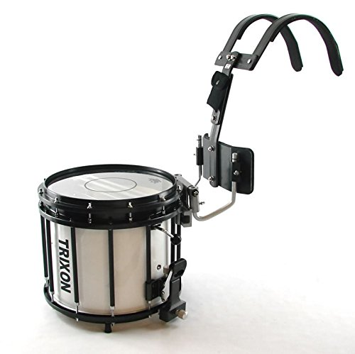 Trixon Field Series Pro Marching Snare - 14'' x 12'' - White by Trixon Drums