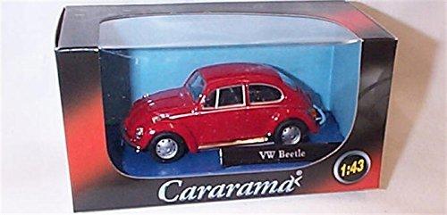 Cararama Red Vw Beetle Car 1.43