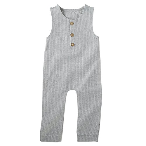 Babe Basics Linen Baby Romper (6-12 Months)