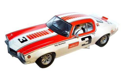 Scalextric Chevrolet Camaro '72 Tony DeLorenzo Slot Car Replica, 1:32 Scale (Slot Car Body 32 Scale)