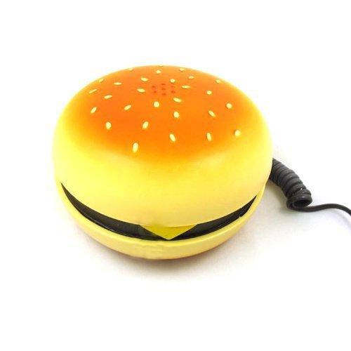 lilyy? Geek Hamburger Burger Cheeseburger Telephone Home Desktop Corded Phone