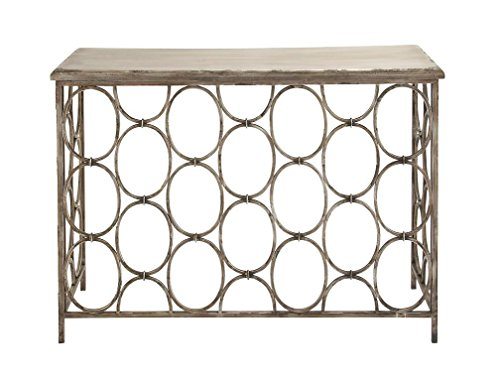 Deco-79-Metal-Wood-Console-Table
