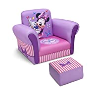 Delta Children Upholstered Chair with Ottoman