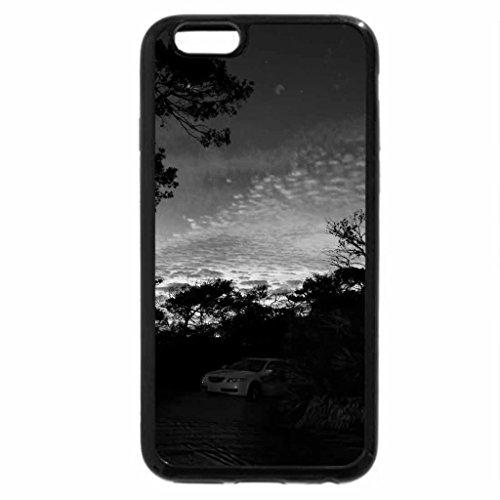 iPhone 6S Case, iPhone 6 Case (Black & White) - Henderson Beach State Park