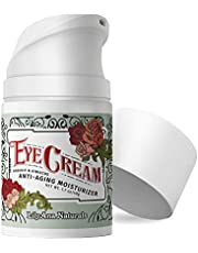 Eye Cream - Eye Cream for Dark Circles and Puffiness, Under Eye Cream, Anti Aging Eye Cream Reduce Fine Lines and Wrinkles, Rosehip and Hibiscus Botanicals - 1.7oz