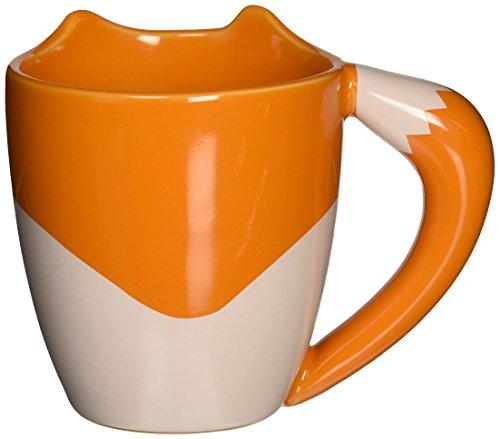 Poignée Orange Le Renard 0001317 Céramique 275ml D'un Queue Mug Est Tasse Forme En Thumbs UpFox dxtChQsr