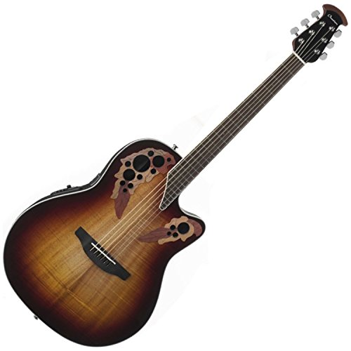 Ovation Celebrity Elite Plus Figured Koa Top Acoustic-