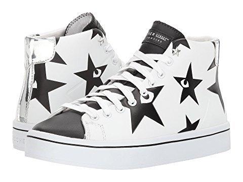 Skechers Street Women's Hi-Lite - Sky High White/Black 8 B - Sneaker Star Leather Hi