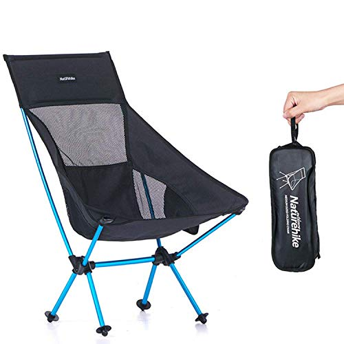 Freestyle Portable Grill - Portable folding chair, light carrying belt, camping camping chair, suitable for outdoor, mountaineering, fishing, picnic, beach hunting, beach outdoor party, suitable for backpackers