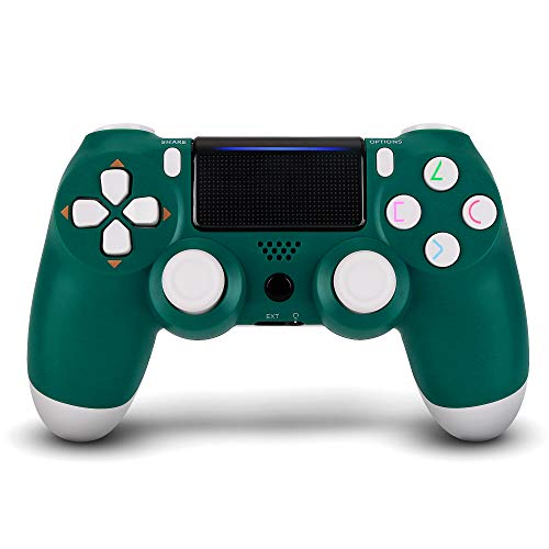 Wireless Controller for PS4, Remote for Sony Playstation 4 with Charging Cable (Alpine Green,New Model)
