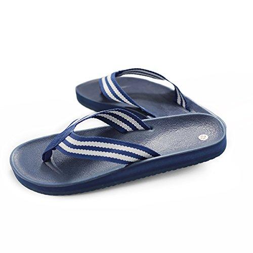 e1dde3680667e Q-Plus Men's Beach Flat Rubber Sandals Flip Flops on sale ...
