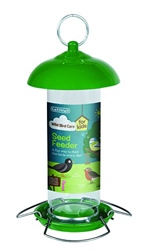 - Gardman BA01905G Bird Seed Feeder Children Green