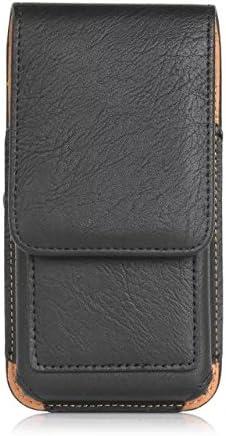 S8 Plus J8 Vivo 8 Brown A7 V40 ThinQ//Blu Vivo XL4 Premium PU Leather Swivel Belt Clip Phone Holster Pouch Carrying Case Wallet ID Card Holder for Galaxy S10 Plus LG V50 ThinQ Vivo Go