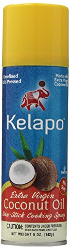 Price comparison product image Kelapo Extra Virgin Coconut Oil,  Cooking Spray,  5-Ounce Can