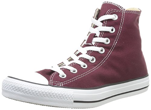 Chuck Women's Star Burgundy All Color Seasonal Hi Converse Taylor 7HWAUq