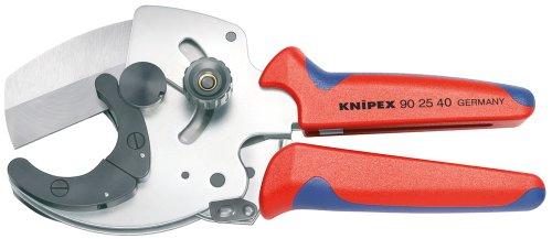KNIPEX 90 25 40 Rohrschneider für Verbund- und Kunststoffrohre mit Mehrkomponenten-Hüllen 210 mm