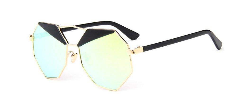 b37e163fab Demarkt 1pcs Lunettes de Soleil Femme polygonales UV Protection/Lunettes De Rayonnement  Style Classiques Lunettes Fashion Sunglasses (Argent Or: Amazon.fr: ...